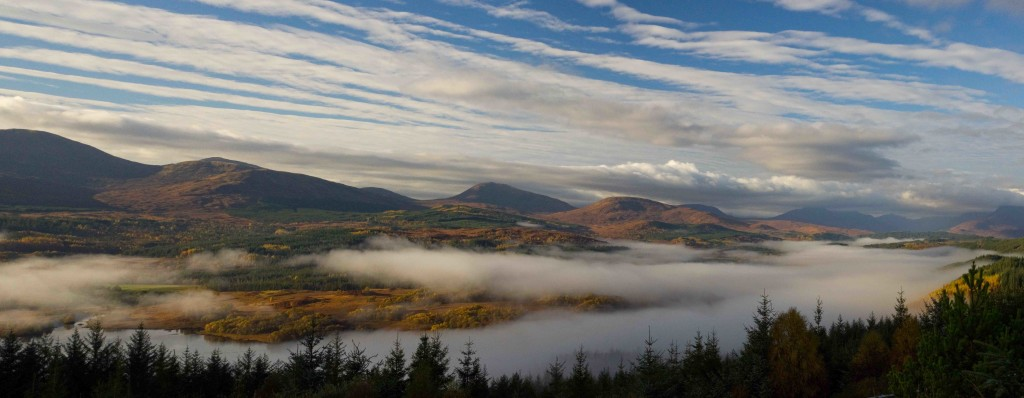 Morning mists over Glengarry