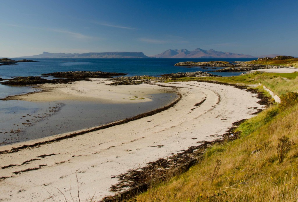 The small isles from Traigh, near Arisaig